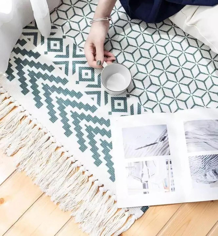 Килимок плетений